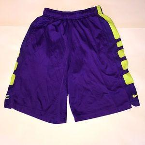 Boy's L Nike Elite Athletic Shorts